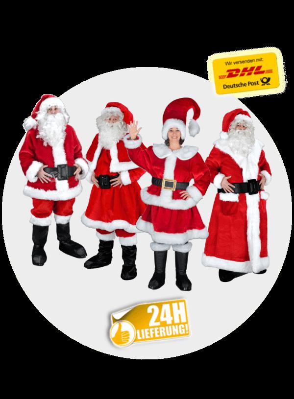Jetzt Weihnachtsmann Kostüme günstig kaufen